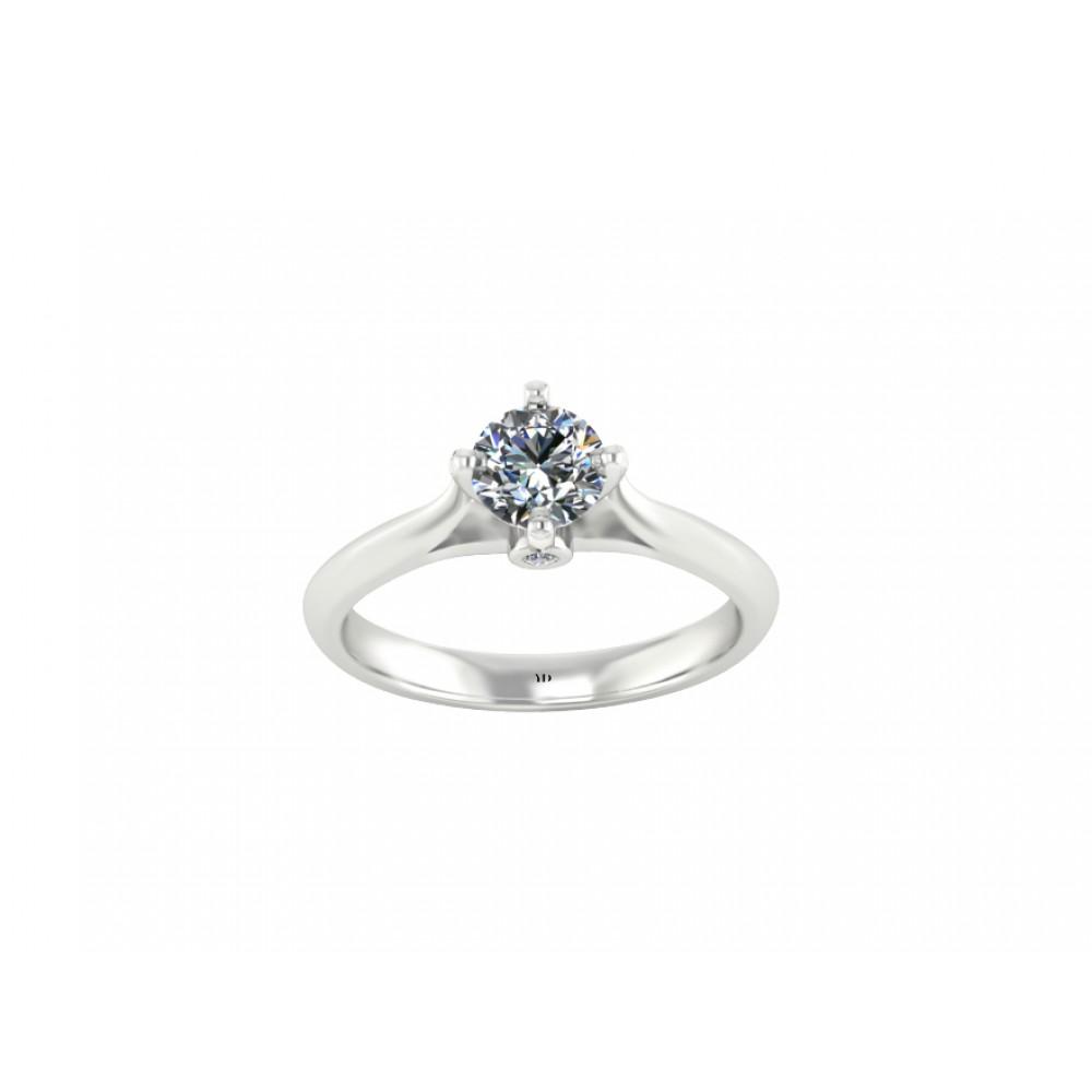Кольцо для помолвки с бриллиантом 0.50 карат RYD004