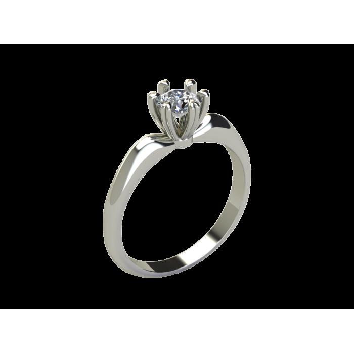 """Кольцо для помолвки из золота с бриллиантом """"Beauty"""" RYD011"""