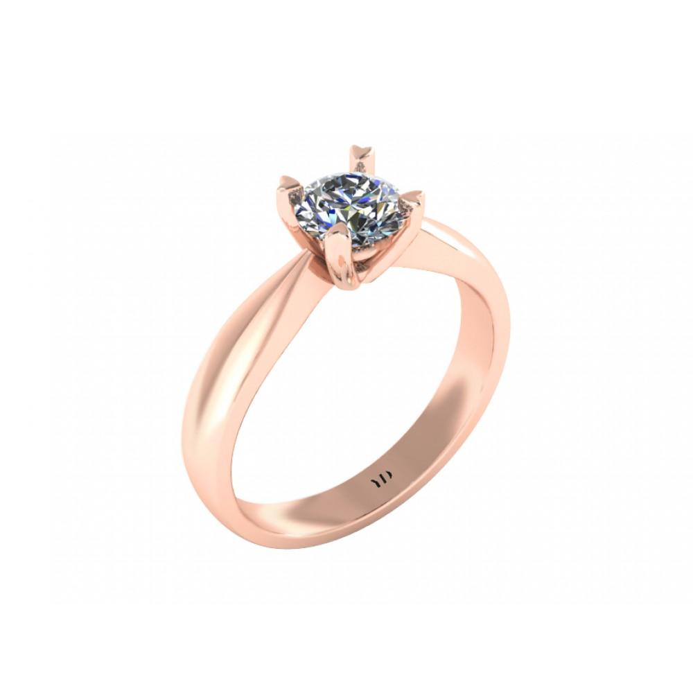 """Кольцо для помолвки з бриллиантом """"Top"""""""