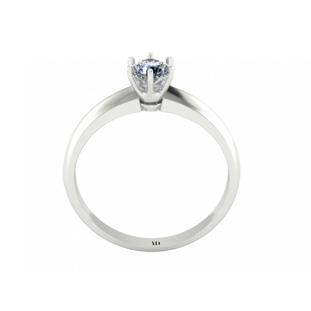 """Кольцо для помолвки с бриллиантом """"Earth"""""""