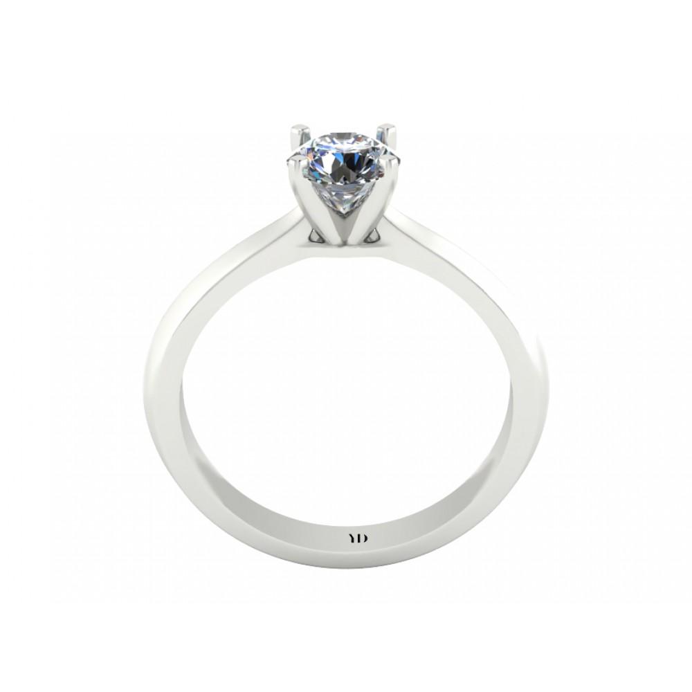 """Кольцо для помолвки с бриллиантом """"Secret"""""""