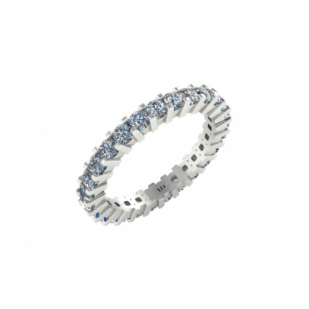 """Кольцо-дорожка для помолвки с бриллиантами """"Sonic"""""""