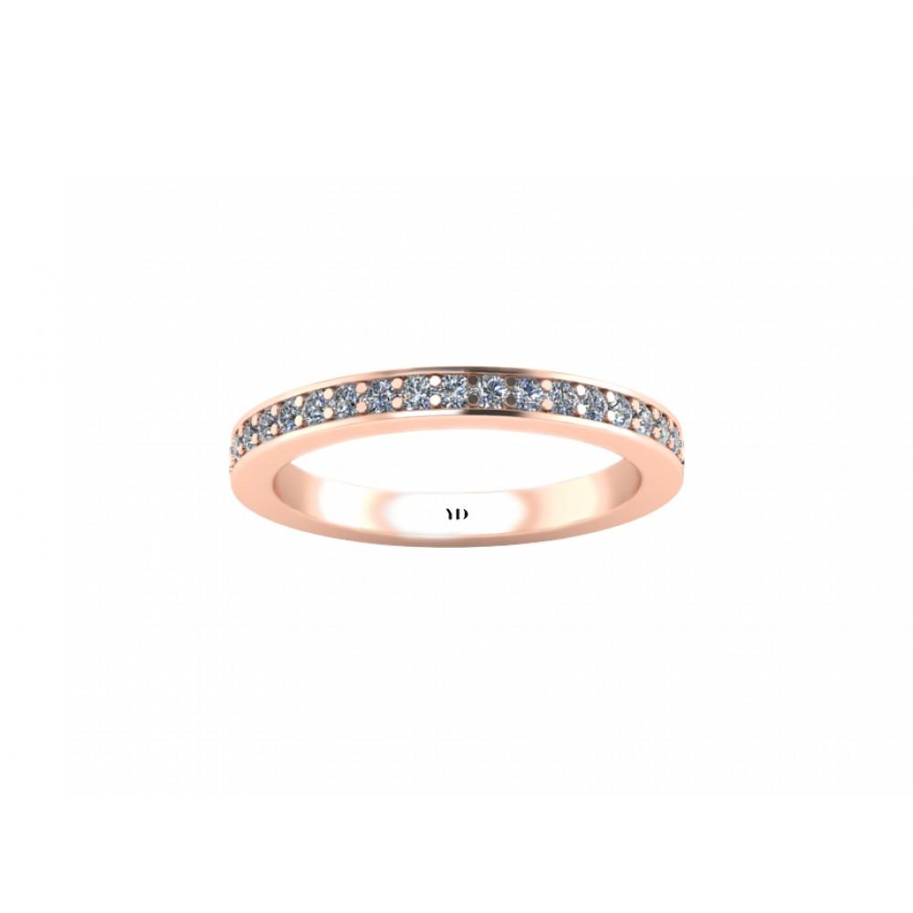 """Кольцо для помолвки с бриллиантами """"21th century"""""""