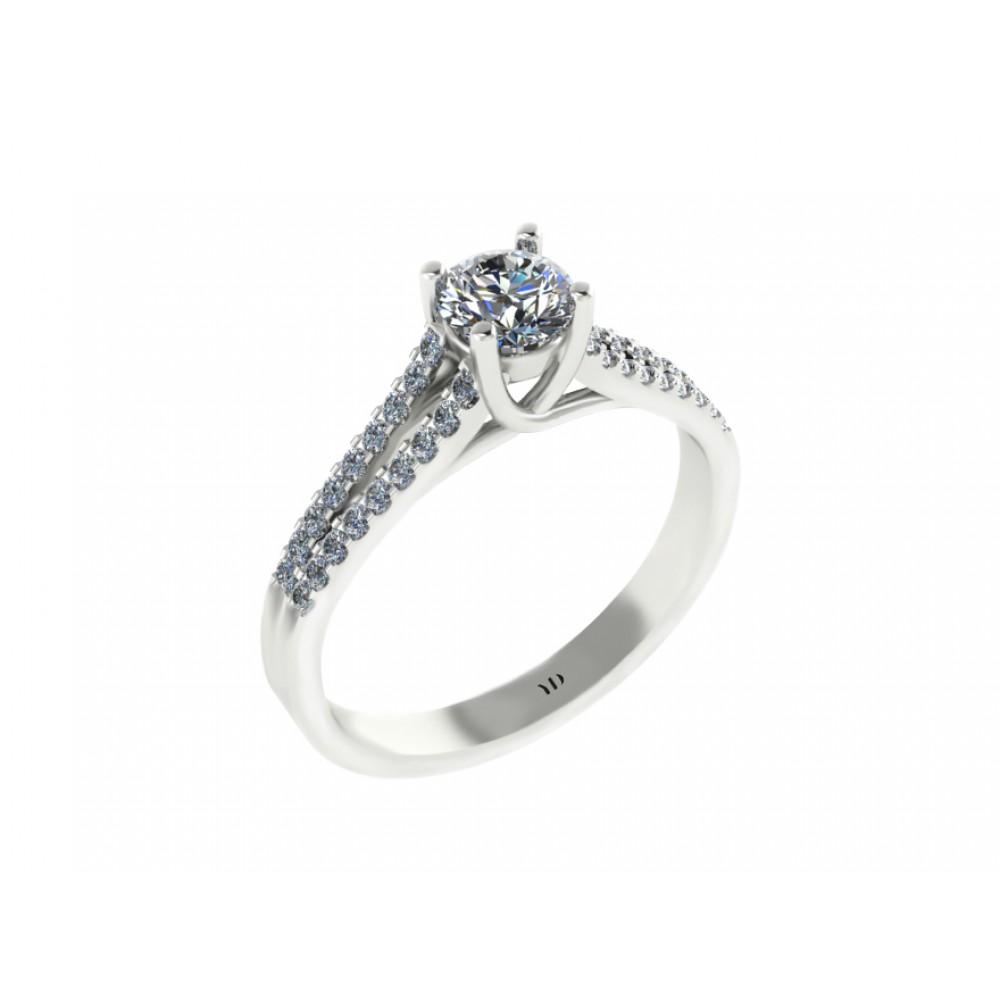 "Помолвочное кольцо с бриллиантами ""My Darling"""