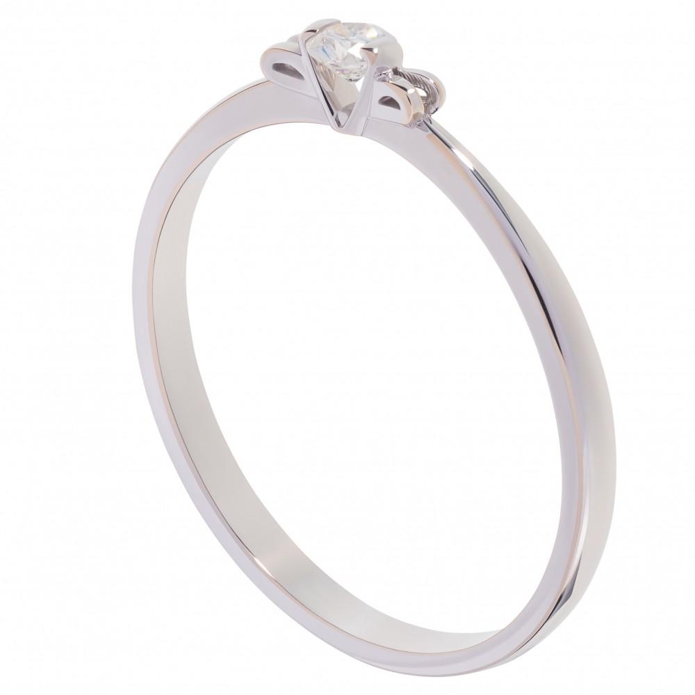 """Кольцо для помолвки с бриллиантом """"Lily"""""""