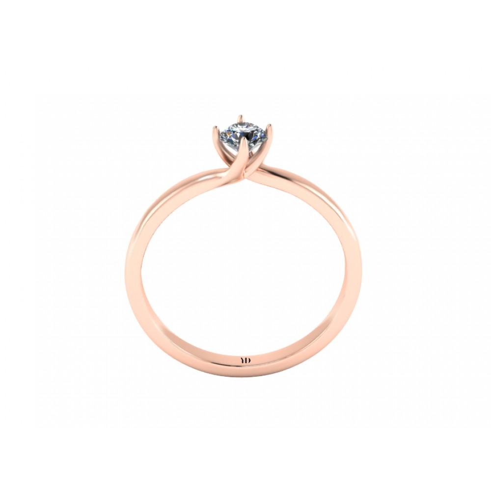 """Кольцо для помолвки с бриллиантом """"Liana"""""""