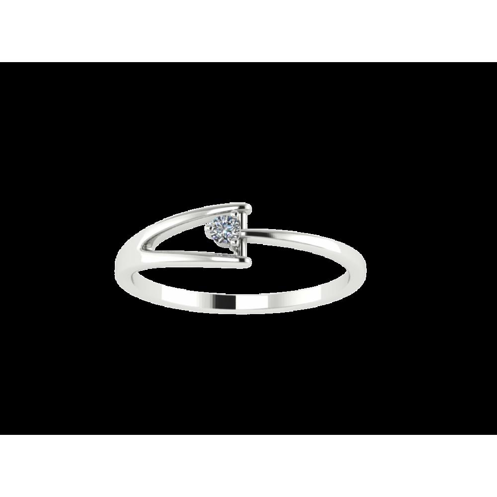 "Кольцо для помолвки с бриллиантом ""Arrow"""