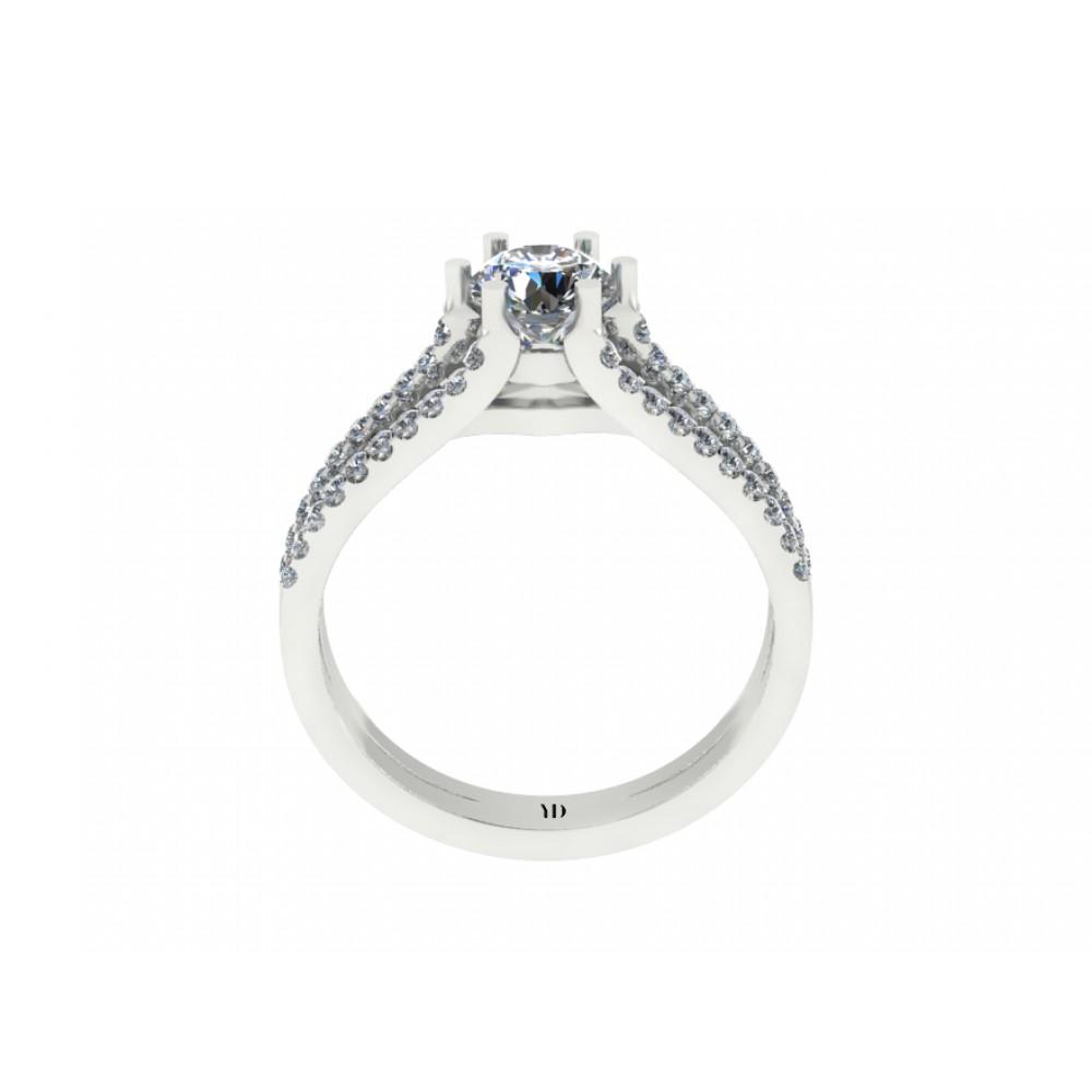 """Кольцо для помолвки с бриллиантами """"Magnificence"""""""