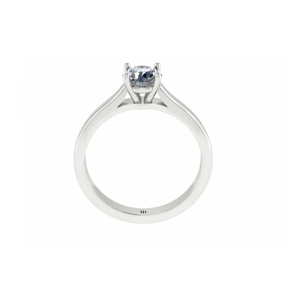 "Кольцо для помолвки с центральним бриллиантом ""Countess"""