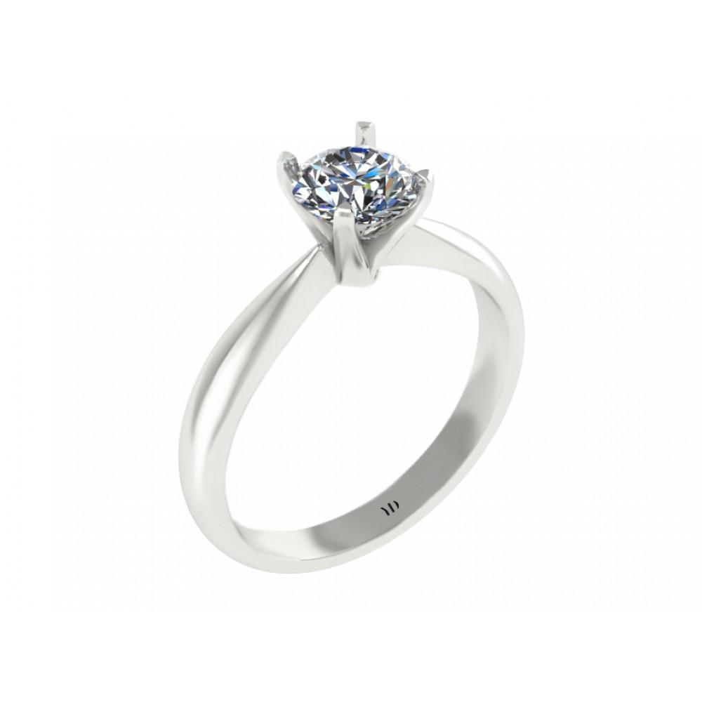 """Кольцо для помолвки с бриллиантом """"Orchid"""""""