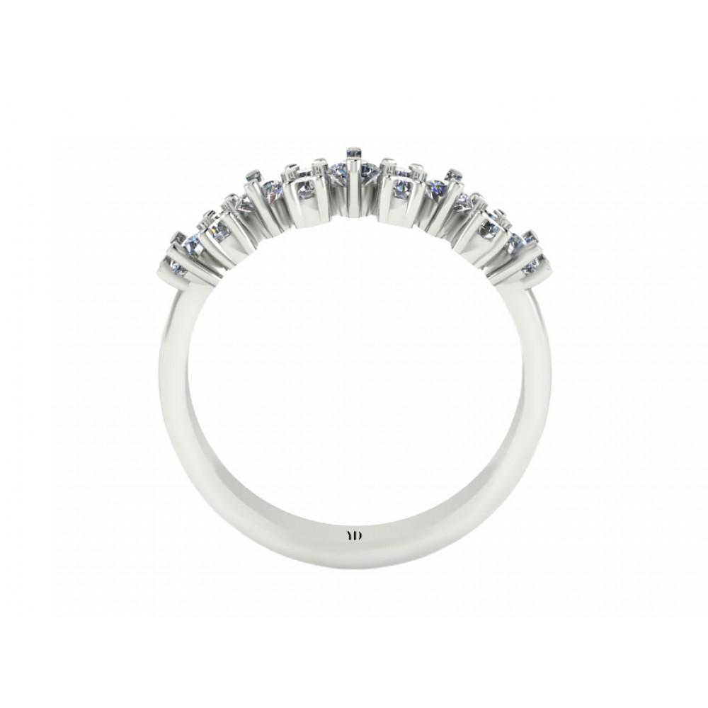 """Кольцо для помолвки с бриллиантами """"Impression"""""""