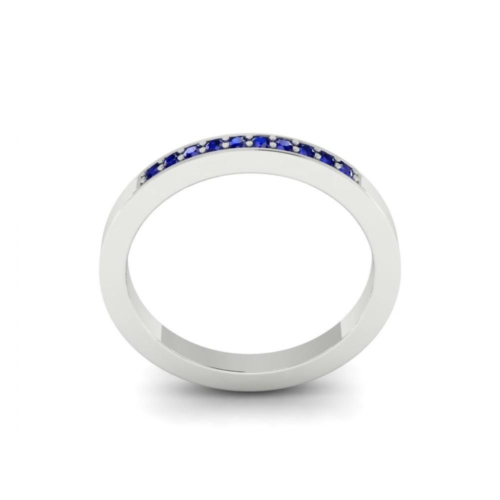 """Кольцо для помолвки с сапфирами """"Olivia"""""""