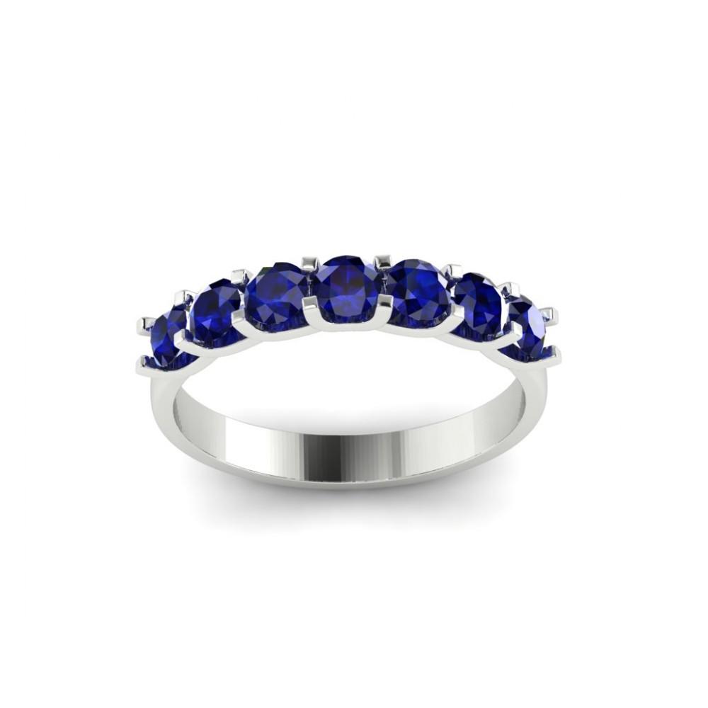 """Помолвочное кольцо с сапфирами """"Santarini"""""""
